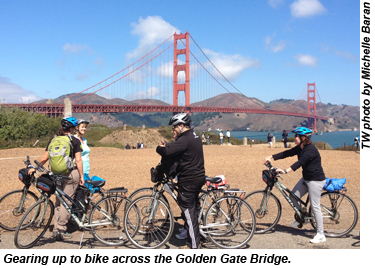 Golden Gate bike