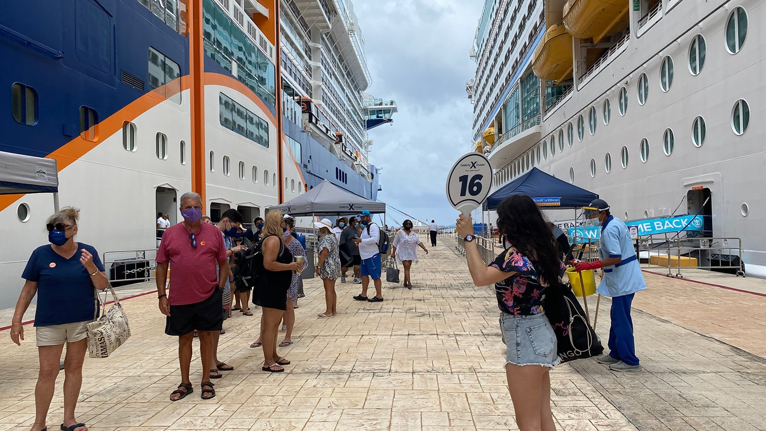 First big U.S. cruise since 2020: Life on the Edge feels ... normal