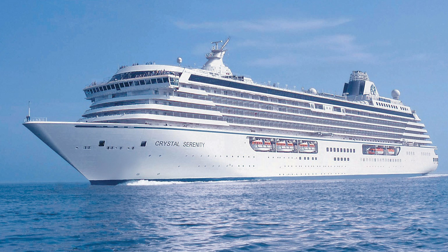 Crystal adds Miami as embarkation port on cruises departing the Bahamas