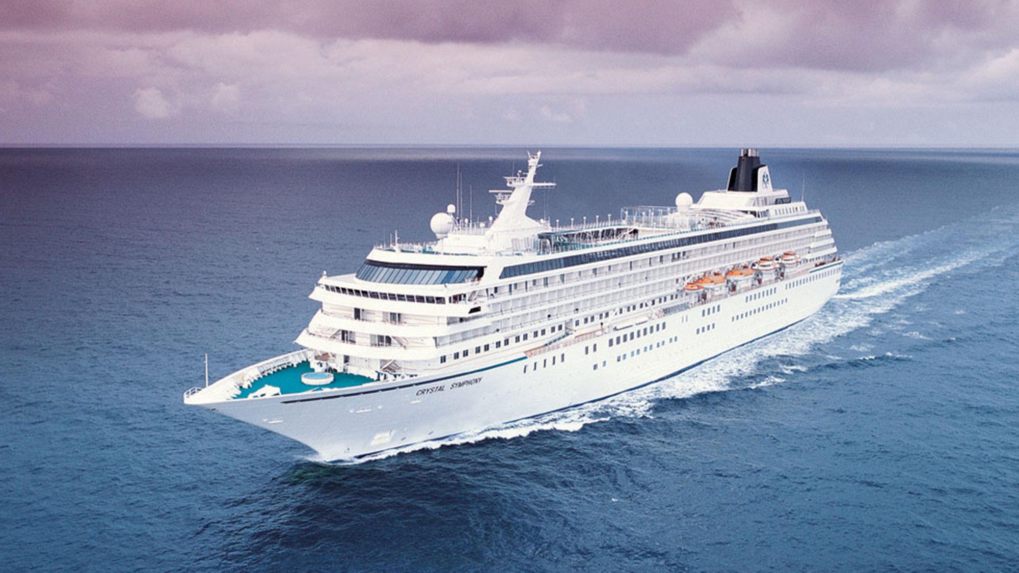 Crystal Cruises' Symphony kicks off Bermuda cruise series from Boston