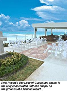 Gran Caribe Real Cancun Opens Roman Catholic Chapel