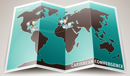 Caribbean Convergence Map