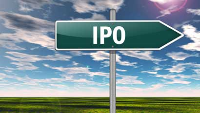 IPO sign
