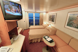 Carnival Miracle cabin