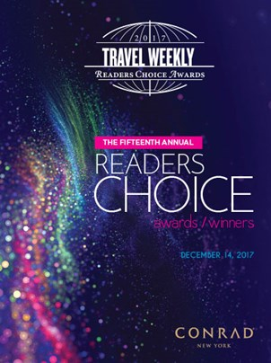 Travel Weekly's 2017 Readers Choice Awards/Winners
