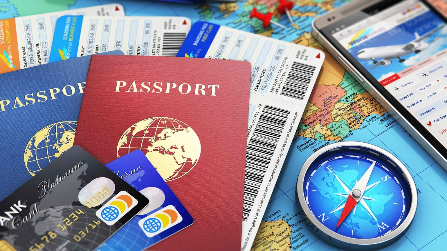 International Airline Booking Strategies