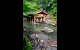 The onsen (hot spring) at Takaragawa in Gunma Prefecture, an easy day trip from Tokyo, has many hiking trails in the surrounding hills.