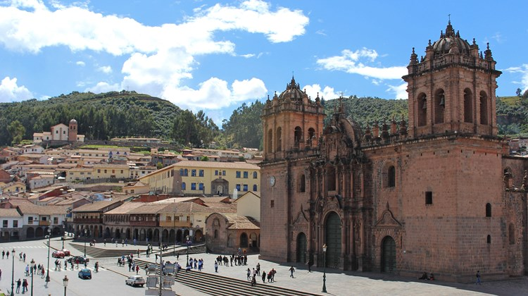 Destinations Editor Eric Moya sampled Peru's culture and cuisine during a recent trip sponsored by the JW Marriott El Convento Cusco. Pictured, the Cathedral in Cusco's Plaza de Armas, which dates from the 17th century. Photos by Eric Moya