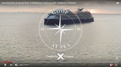 Celebrity Cruises introduces Goop at Sea