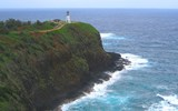 Kilauea Point National Wildlife Refuge on Kauai's north shore not only offers visitors spectacular ocean vistas but also one of the largest populations of nesting seabirds anywhere in the state, including species like the red-footed booby, laysan albatross and the frigate bird.
