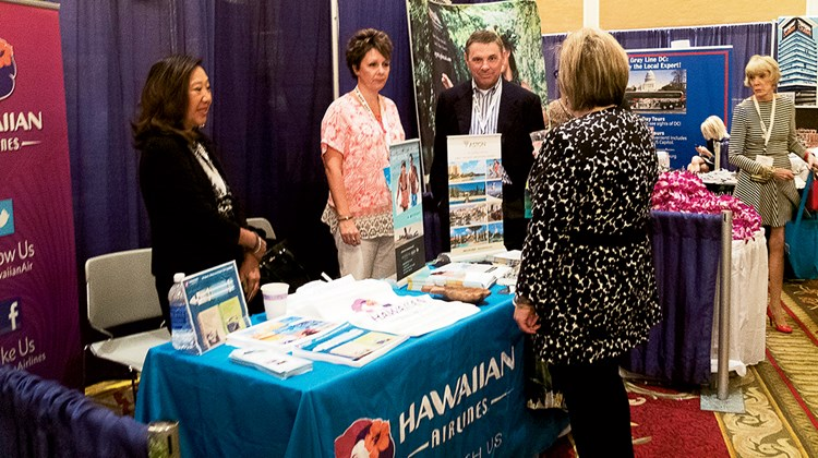 More than 100 vendors such as Hawaiian Airlines populated the floor of the trade show at the ASTA Global Convention this year, drawing hundreds of agents and industry personnel on Monday and Tuesday.