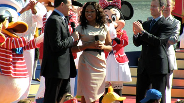 The Disney Dream, Disney Cruise Line's first ship in more than a decade, was christened Jan. 19. Cruise editor Johanna Jainchill was there for the ceremony and subsequent sailing. Above, Bob Iger, CEO of the Walt Disney Co.; Jennifer Hudson, the Dream's godmother; and Tom Staggs, chairman of Walt Disney Parks and Resorts, at the naming ceremony.