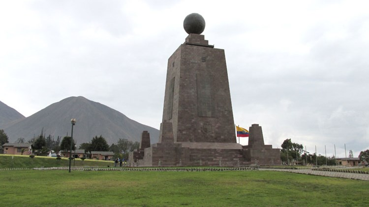 Travel Weekly's Eric Moya was in Ecuador for the 37th Annual TravelMart LatinAmerica, held in Quito Sept. 19 and 20. Over six days, he toured the country's capital as well as Guayaquil, its largest city. Pictured here, the Mitad del Mundo equatorial monument, about an hour outside Quito. The 100-foot-tall monument was completed in 1982. Photos by Eric Moya; posted Sept. 26, 2013