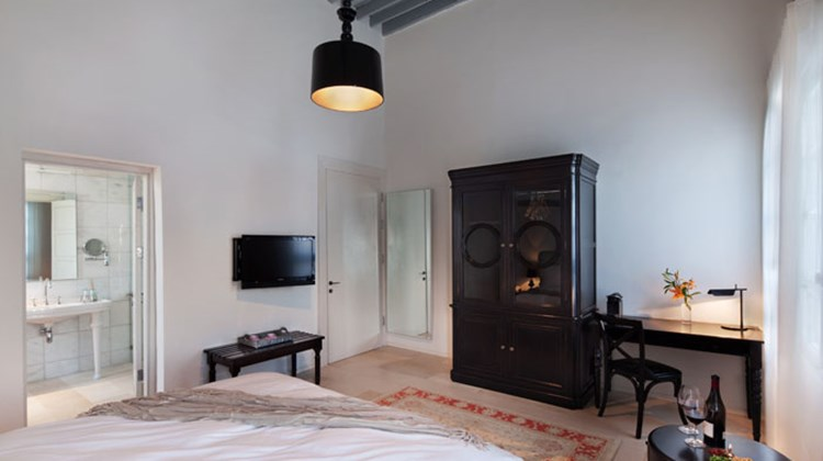 Israel has gone full steam ahead on the modern hospitality and tourism front, with top properties popping up across the country over the last couple years, complemented by unique activities available from Tel Aviv's hip haunts to Jerusalem's Old World wonders and the Sea of Galilee. Pictured here, the bedroom in a suite at Efendi, a historical property set on Israel's north coast in the old city of Acre, a Unesco World Heritage site.