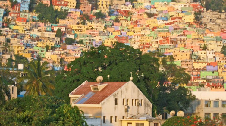 A recent trip to Haiti offered a brief glimpse into a country intent on moving forward out of poverty and the damage of the January 2010 earthquake into a tourist destination offering Creole culture, crafts and cuisine plus music and mountains, beaches and boutique hotels and art and architecture. Pictured here, early morning sunlight brightens the hillsides of Petion-Ville, a suburb of Port-au-Prince. Photo by Melanie Reffes