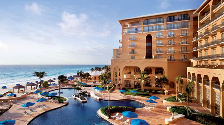During a recent visit to Cancun, Travel Weekly editor-at-large Johanna Jainchill stayed at the Ritz-Carlton, Cancun, sampling its fine dining and resort facilities. During down time, she rented a car and ventured outside of the city on her own to see what the surrounding area has to offer. Pictured here, the pool and beach at the Ritz-Carlton, Cancun.