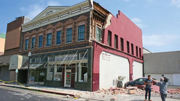 Travel Weekly's Michelle Baran traveled to the region on Monday to view the damage following Sunday morning's 6.0 magnitude earthquake. The most visible destruction was in Napa's historic downtown area.