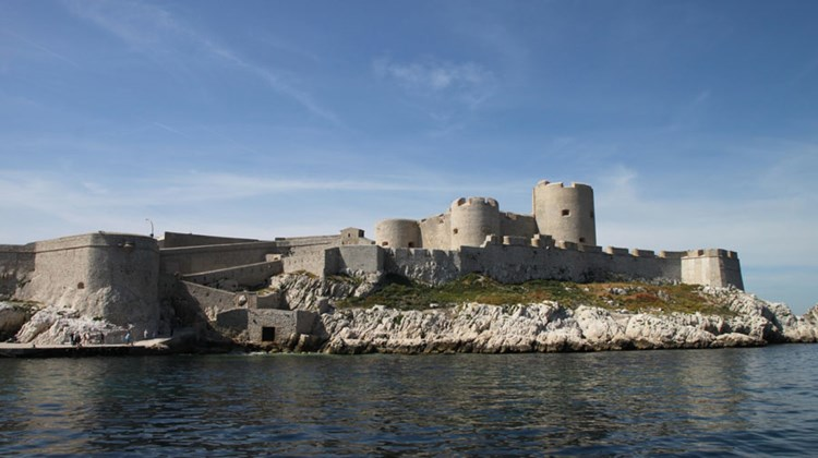 Chateau d'If, made famous by Alexandre Dumas' 19th century novel, ''The Count of Monte Cristo.'' The book's hero was fictional but the fortress, in Marseille's harbor, has been used as a prison.