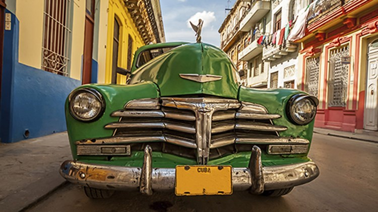 Our next five slides had two picks each. Shown here, a vintage car in Cuba. The island destination was the top choice for Frank Del Rio, Prestige Holdings, and Jason Lasecki, formerly Disney Cruise Line and currently Ford Motor Co.