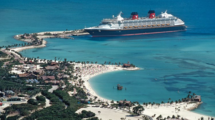 Disney ships berth at Castaway Cay twice during four-day sailings; starting next year, the line will berth there twice on five-day sailings as well.