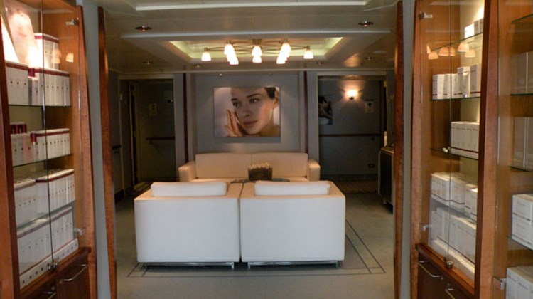 The Mandara Spa on the Silver Shadow