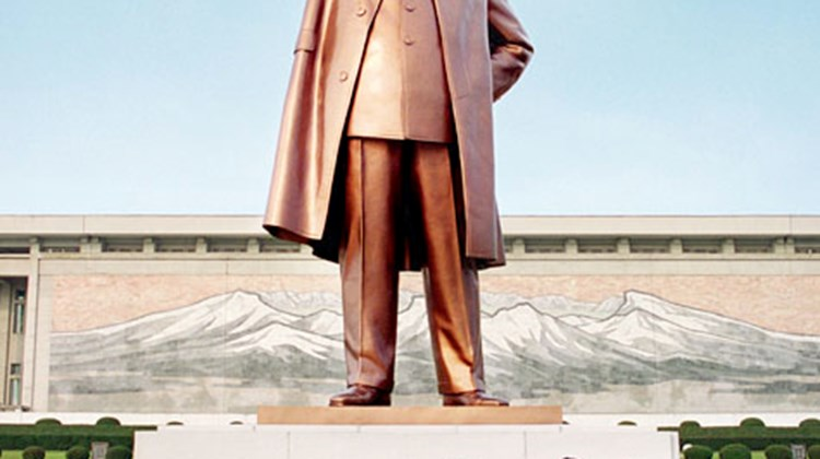 Statue of Kim IL Sung, Pyongyang, North Korea