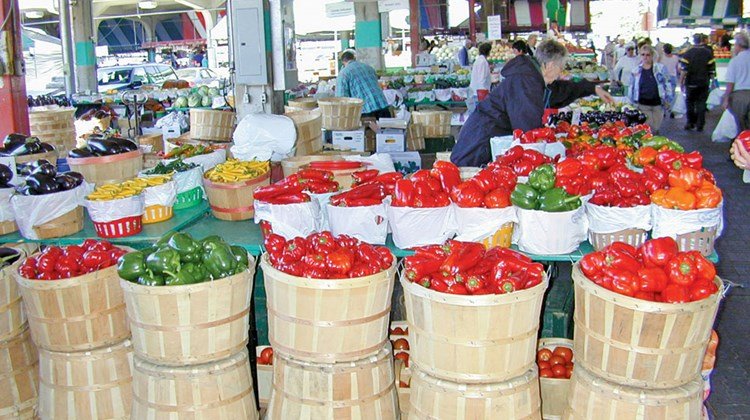 The Jean-Talon Market is one of the oldest public markets in Montreal and is open daily.