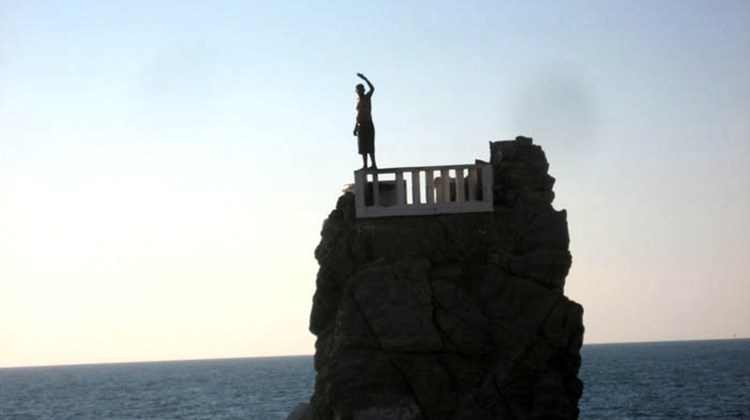 At Mazatlan's natural rock formation known as The Diver, young men launch themselves into the sea several times a day.
