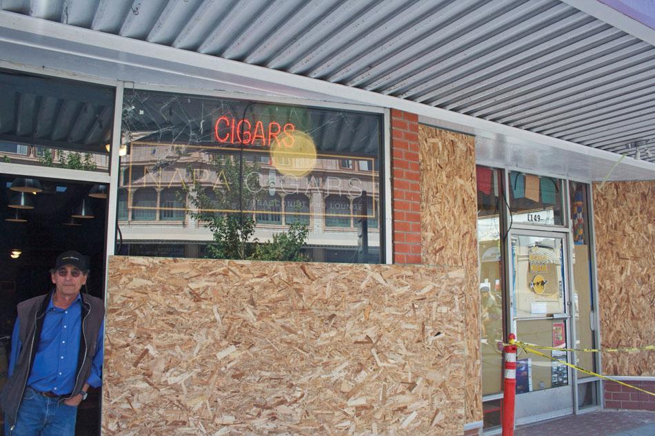 Napa valley casino earthquake