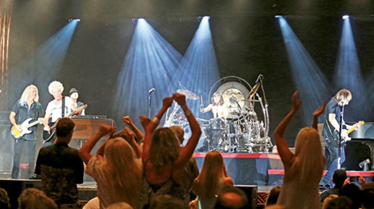 Carnival Live's initial series of 49 concerts concludes Dec. 15 in Nassau with a performance by REO Speedwagon, pictured.