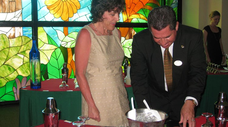 Margarita lessons at La Joya, a four-diamond Mexican restaurant at the Fiesta Americana Grand Coral Beach Cancun.