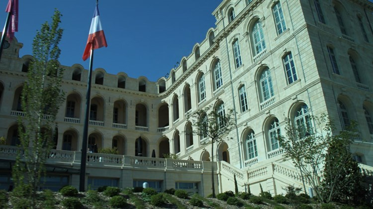 Exterior of the InterContinental Marseille-Hotel Dieu.