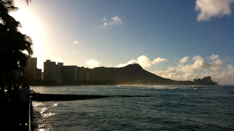Diamondhead is one of the most recognizable elements of Waikiki, but many people get up early to climb to the top of the peak.