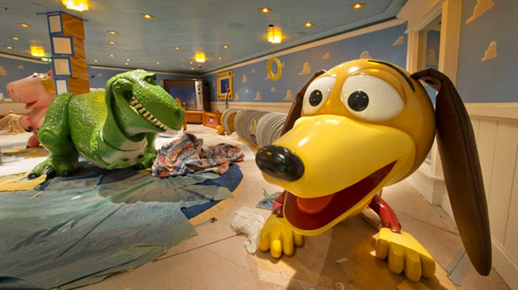 "Like other Disney ships, the Fantasy will feature characters from several Disney films, including Rex and Slinky Dog from the ""Toy Story"" movies."