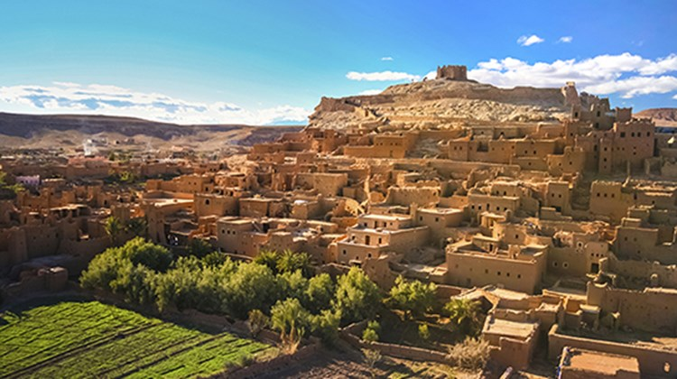 Morocco topped the list for Dan Sullivan Jr., Collette. Pictured here, Ait Benhaddou in Ouarzazate.