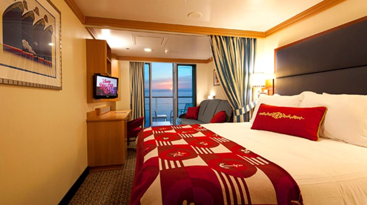 More than 70% of the Dream's 1,250 staterooms have balconies.