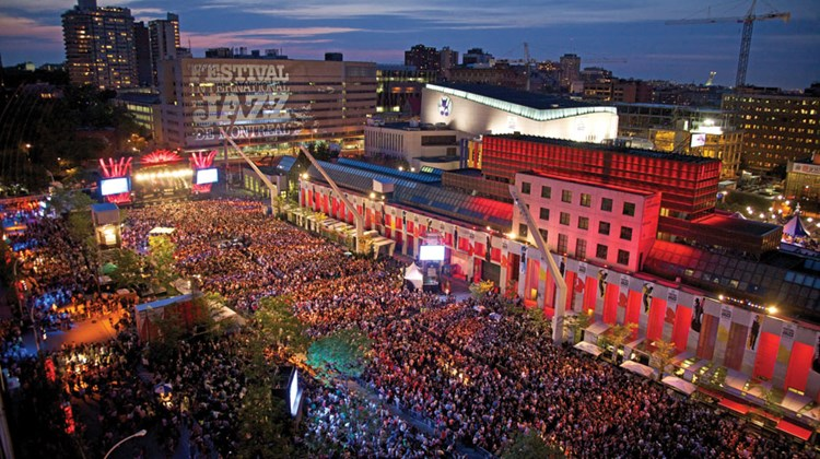 Several of the headline performances at the 35th Montreal Jazz Festival, which took place this year June 26 to July 6, were staged at the outdoor Place des Festivals. The 36th edition will be held June 26 to July 5.