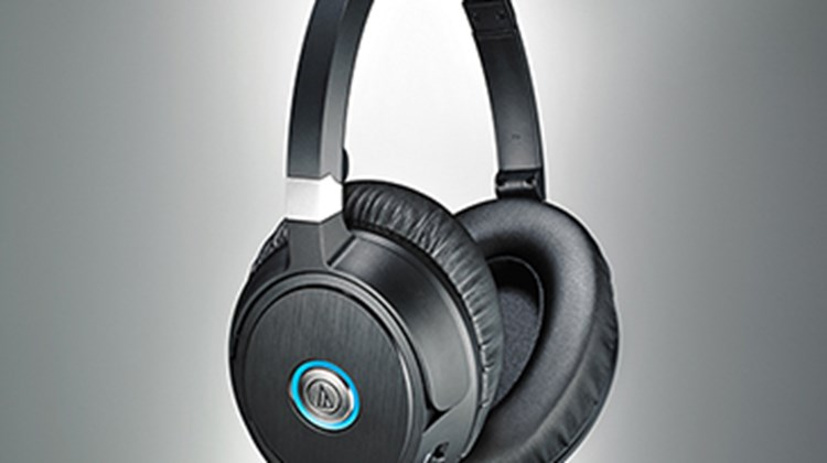 Audio-Technica, the company behind these redesigned, noise-canceling headphones, says it has at once enlarged the diameter of the ear cups for a more-comfortable, over-ear fit while giving the ear cups a slimmer profile. The ATH-ANC70, which include a mic (built into an ear cup) and controller for handling music and answering calls, come with a protective case, a detachable cable, a stereo adapter and an airplane adapter. Light weight, compact and foldable, these headphones are ideal for travel.