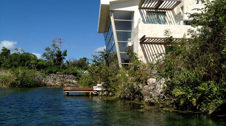 The resort's spa, Sense, is situated on its own island surrounding a natural cenote. Eight spa island suites have their own private treatment rooms, and a no-children environment.