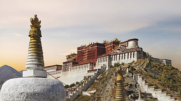 Tibet topped the list of Insight Cuba's Tom Popper. Pictured here, Potala Palace in Lhasa.