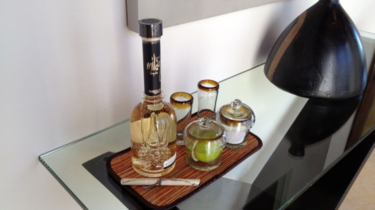 Every suite has a tequila set-up for guest. The resort's Agave Azul hosts informative tequila tastings, as well.