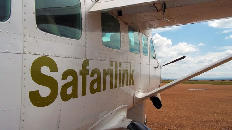 Safarilink is one of several airlines transporting safari-goers from Nairobi to Kenya's national parks.