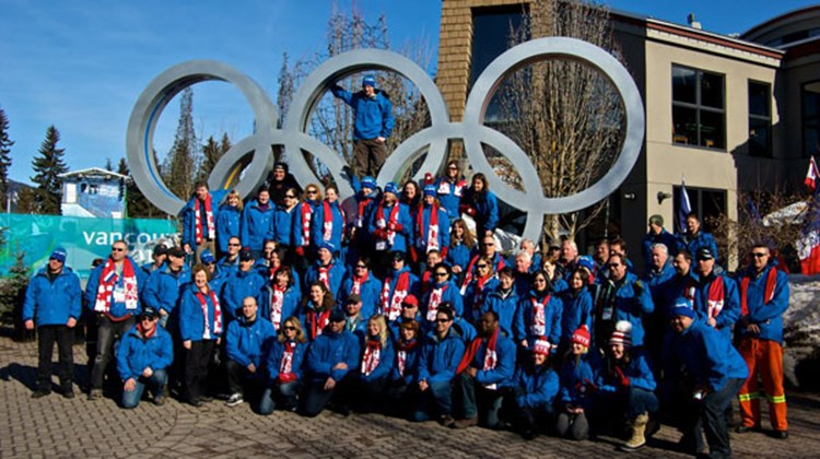 Anderson Vacations partnered with Rocky Mountaineer and Travel Alberta to bring some of their preferred travel agent partners on an Olympic-themed rail trip through western Canada.