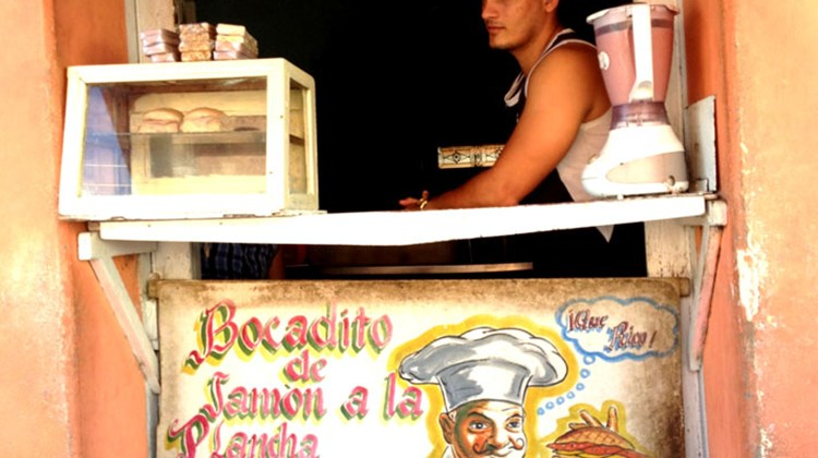 Entrepreneurs operate small kiosks selling sweets, fruits and juices under regulations that now permit such businesses.