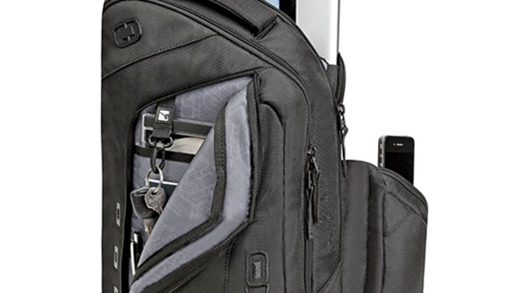 Some travelers prefer to carry their essentials in a backpack, wherever and whenever they go, and for them an all-purpose carrier such as the Ogio Newt 15 should suit them perfectly. The backpack has a padded back panel for comfort; dual, adjustable foam shoulder straps and sternum strap for stability; an easy-access mesh pocket; a zippered stash pocket on the back panel; a zippered, fleece-lined valuables pocket; a padded tablet sleeve in the main compartment; and a fleece-lined, protective pocket for electronics.