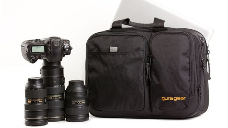 This classy product does it all. At once an abrasion- and tear-resistant professional-style camera bag and/or full-featured carryon, the Chobe by Gura can accommodate a 15-inch laptop, tablet or e-reader; travel documents; newspapers, books and magazines; and travel ephemera. With the addition of Gura's custom-designed camera insert, the bag is a perfect fit for an SLR, multiple lenses and a few compact cameras to boot.