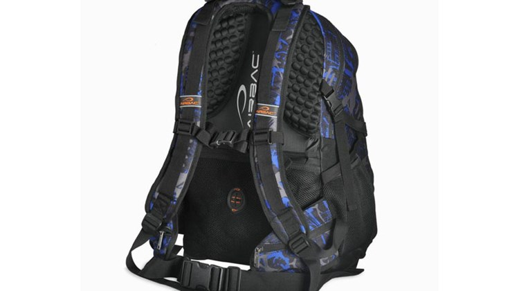 A patented support system that is designed to relieve pressure and stress on your upper and lower back caused by excessive backpack weight makes the Airbac Journey unique. An air cushion in the bag adjusts to your body's shape to alleviate weight-load pressure; moreover, wide shoulder straps and an adjustable waist belt enhance stability. The Journey, which is available in blue and orange, measures 12 by 23 by 9 inches, weighs 2 pounds, 2 ounces, and can accommodate up to a 15-inch laptop in a padded pocket.