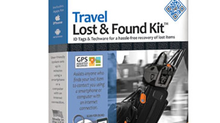 Attach the stickers in this Travel Lost & Found Kit to your valuables while traveling and feel confident that you have a reasonably good chance to recover whatever you might lose in transit. Each tag is coded so that your identity remains confidential, but when scanned by a finder with a smartphone you will be alerted to its whereabouts. They kit includes two large tags with straps, one medium tag with a stainless steel ring, two adhesive tags for cellphones and the like, and two adhesive tags for power cords.