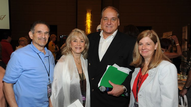 "Travel Impressions' President and CEO Steve Gorga joins Richard and Sharon Gordon from Let's Go Travel and Donna DeVore from Pro/Rich Worldwide Travel at the recent Travel Impressions ""Best of the Best"" event."