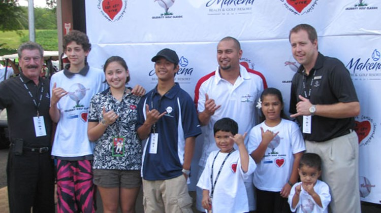 Makena Beach & Golf Resort hosted Philadelphia Phillies outfielder Shane Victorino and his Second Annual Celebrity Golf Classic at the resort on Nov. 21, 2009.